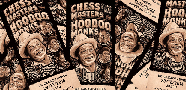 Chicago Blues Night -  Hoodoo Monks, Chess Masters, Cadillac Records